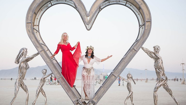 Don't miss the temporary exhibition about Burning Man.