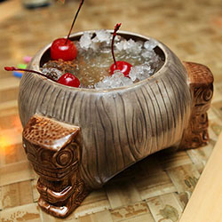 <p>At Trader Sam's Enchanted Tiki Bar, order the Uh Oa! for a fishbowl-size drink potent enough for two. // © 2015 Creative Commons user <a...