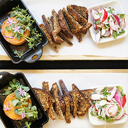 <p>Order delicious vegan fare at the Venice, Calif.-based Plant Food and Wine. // © 2015 Plant Food and Wine</p><p>Feature image (above): Dirt Candy's...