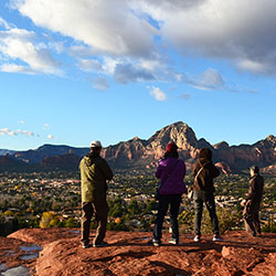 <p>A view of Sedona from atop the Airport Mesa // © 2016 Carson Vaughan</p><p>Feature image (above): Sedona's Red Rock Country // © 2016 Carson...