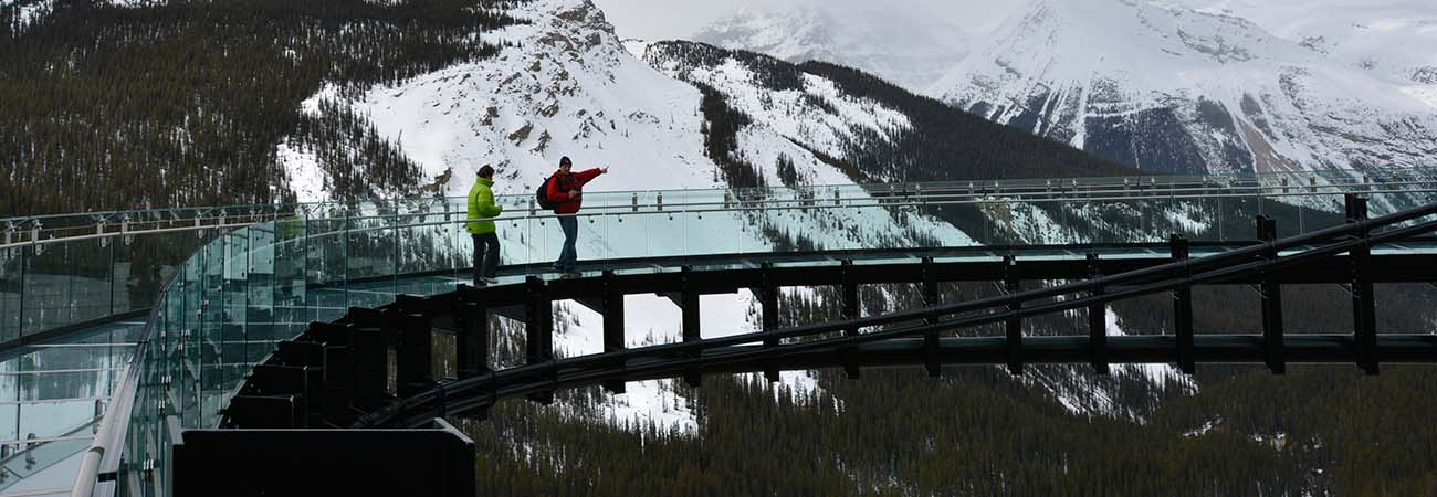 New Skywalk Opens in Alberta