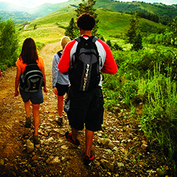 <p>Visitors can choose from many hiking trails in Park City, Utah. // © 2014 Park City Chamber/Convention and Visitors Bureau</p><p>Feature image...