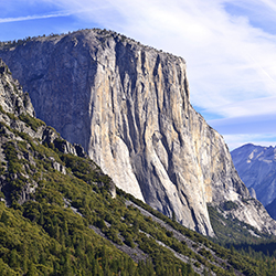 <p>Experienced rock climbers might enjoy climbing El Capitan, which stands more than 3,000 feet over Yosemite Valley. // © 2016 iStock</p><p>Feature...