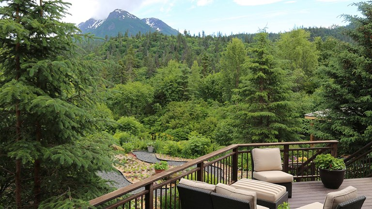 Spend a few nights at the luxurious Stillpoint Lodge in Halibut Cove.