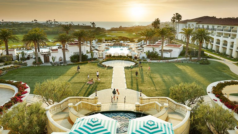 Monarch Beach Resort offers pools, a golf course, decadent dining and a world-class fitness and spa center, making it ideal for groups composed of folks with different vacation agendas.