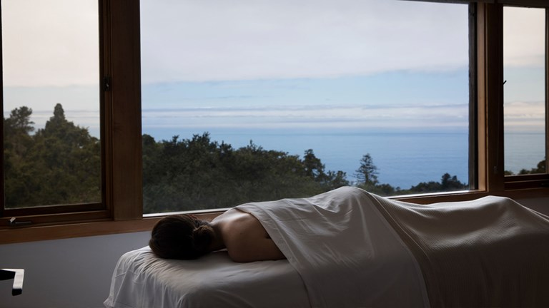 Ventana Big Sur offers both ocean and forest views.
