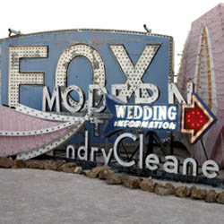 The Neon Museum offers a unique look into Sin City's past. // © 2014 The Neon Museum