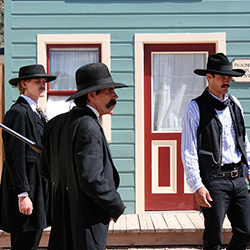 <p>Catch a reenactment of a historical gunfight at O.K. Corral in Tombstone, Ariz. // © 2015 Creative Commons user <a...