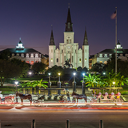<p>New Orleans has seen the opening of many new properties. // © 2017 iStock</p><p>Feature image (above): Henry Howard Hotel's guestrooms mix the...