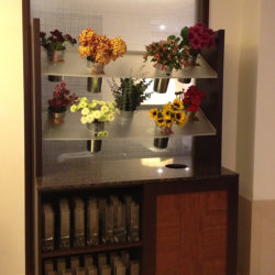 "Fresh-cut flowers are offered to guests of the Hyatt Rengency Century Plaza as part of its ""Brighten Your Stay"" program // (c) 2013 Hyatt Regency..."