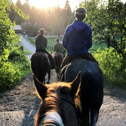 <p>Every family member will find something to love at Averill's Flathead Lake Lodge, whether that's trail riding, kayaking or relaxing by the lake...