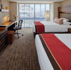 The newly renovated guestroom at Grand Hyatt San Francisco // © 2013 Hyatt Hotels and Resorts