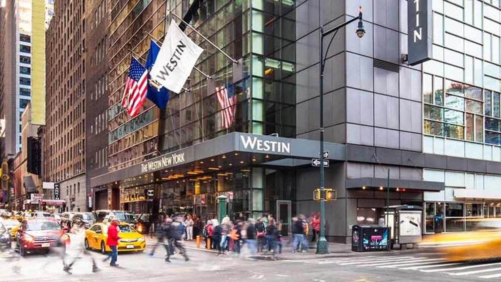 hotel review the westin new york at times square. Black Bedroom Furniture Sets. Home Design Ideas