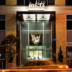 <p>Kimpton Ink48's Print restaurant and The Press Lounge are popular with guests and locals alike. // © 2016 Kimpton Ink48</p><p>Feature image...