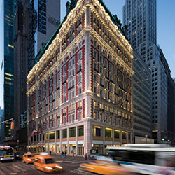 <p>An official New York City landmark, today's Knickerbocker Hotel boasts the same Beaux-Art beauty as it did for its 1906 debut. // © 2016...
