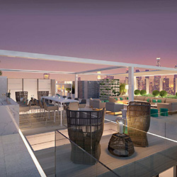 <p>The London West Hollywood's private rooftop // © 2015 The London West Hollywood</p><p>Feature image (above): Penthouse Inspired by Vivienne...