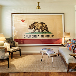 <p>Laguna Beach House's decor highlights California and surf culture. // © 2016 Laguna Beach House</p><p>Feature image (above): The expanded pool deck...