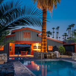Sparrows is one of three new hotels in Palm Springs. // © 2013