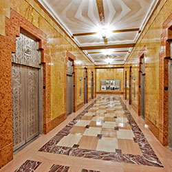 <p>Q&A Residential Hotel shows off the historic building's glamorous Art Deco stylings. // © 2016 Q&A Residential Hotel</p><p>Feature image...