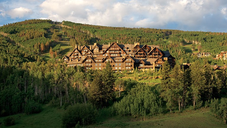 The Ritz-Carlton, Bachelor Gulch was inspired by national park lodges.