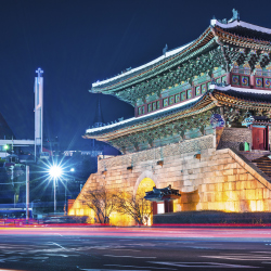 Namdaemun, also called the Great South Gate, is a landmark of which city? // © 2014 Thinkstock/SeanPavonePhoto
