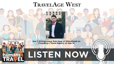 Gen Z Entrepreneur Rob Karp of MilesAhead on Founding a Travel Agency at Age 14