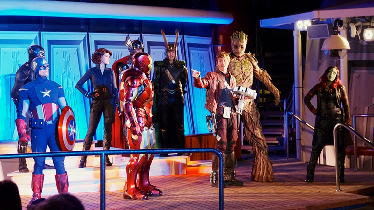 Disney also hosts Marvel Day at Sea.