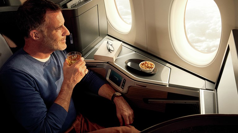 A Club Suite on British Airways