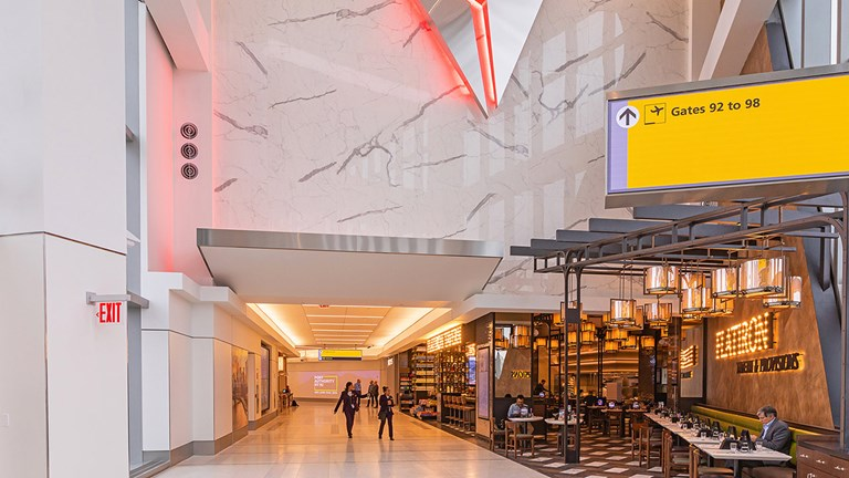Delta recently opened a new concourse at New York's LaGuardia Airport.