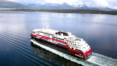 Hurtigruten Launches Battery-Powered Hybrid Cruise Ship