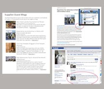 Agents can use Agent SociaLink to link to content. // © 2010 Passport Online Inc.