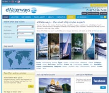 EWaterways' new Agent Loyalty program rewards agents with experience packages. // © 2010 EWaterways