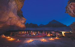 Although rustic, an overnight visit is a highlight for many visiting Wadi Rum. // (c) Mark Edward Harris