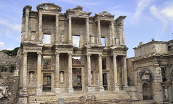 Library of Celsus Ephesus // (c) 2008
