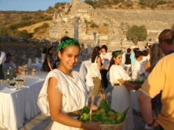 Classical music at the Roman ruins of Ephesus // (c) 2008 Kenneth Shapiro