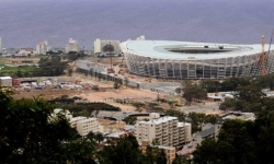 Capetown's Greepoint Stadium as of September 2009