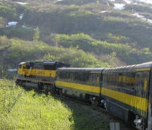 Alaska Railroad serves up scenic views and wildlife spotting // (c) 2009 Monica Poling