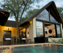 Ivory Lodge villas have private, heated pools. // © 2010 More Hotels