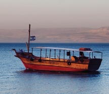 Guests can journey on the Galilee by boat.// (C) 2012 Thinkstock