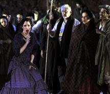 """Carmen"" was one of the operas previously staged on top of Masada in Israel. // © 2012 Israeli Opera Festival"