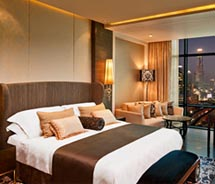 The St. Regis Bangkok recently opened, marking the brand's first property in Thailand. // (c) St. Regis Bangkok