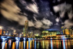 Major plans for development are taking place at Singapore's Marina Bay. // (c) Gyver Chang