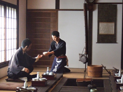 The Hakutsuru Sake Brewery Museum features interactive demonstrations. // (c) Monica Poling