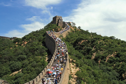 The Great Wall of China is, perhaps, the country's most iconic historic landmark. // (c) istockphoto