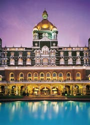 Recovery efforts are taking place at The Taj Mahal Palace & Tower following // © 2009 Taj Hotels Resorts and Palaces