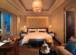 Guestrooms, of which there are 235, are luxurious and technologically advanced. // (C) 2010 Peninsula Hotels