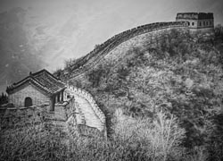 The Mutianyu section of the Great Wall of China// © 2010 Francisco Diez