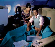 Beginning next year, Singapore Airlines is planning to launch onboard Wi-Fi, even during long-haul flights between Asia and the U.S. // © 2010...