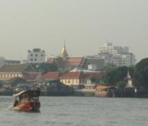 Chao Phraya; Many of Bangkok's top attractions are accessible through excursion boats on the Chao Phraya River. // © 2011 Monica Poling