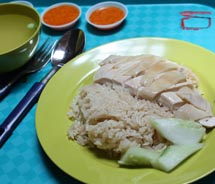 Tian Tian Chicken Rice at the Maxwell Road Hawker Centre is a must. // © 2011 Deanna Ting